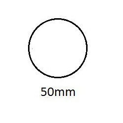 Sluitzegel permanent 50mm