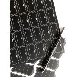 Blacklabel, 50 x 28 mm, met gravure